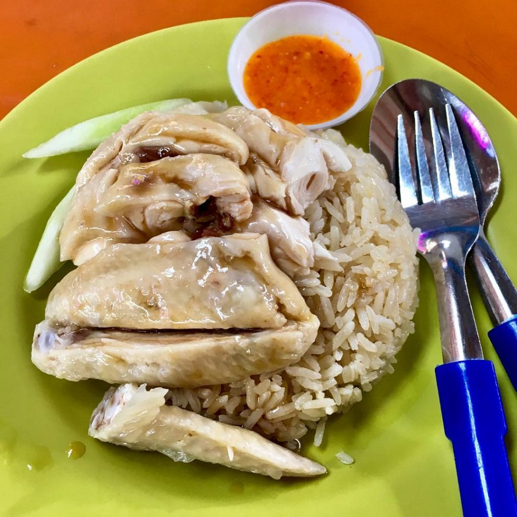 Maxwell Food Centre Tian Tian Chicken Rice