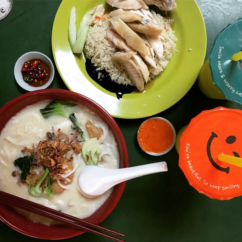 Maxwell Food Centre Yi Jia Chou Zhou Yu Zhou