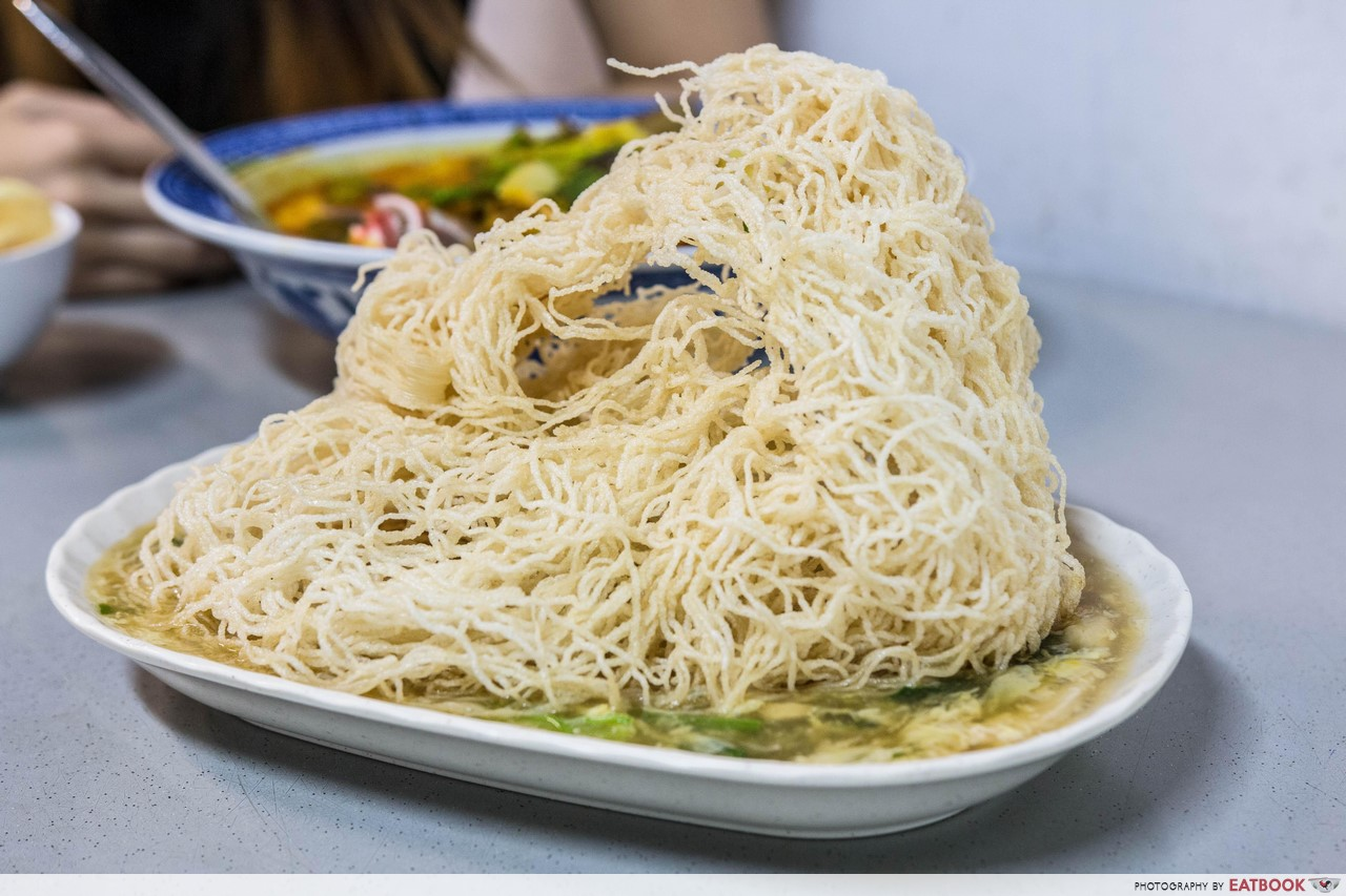 Miki Oriental Cuisine - crispy vermicelli