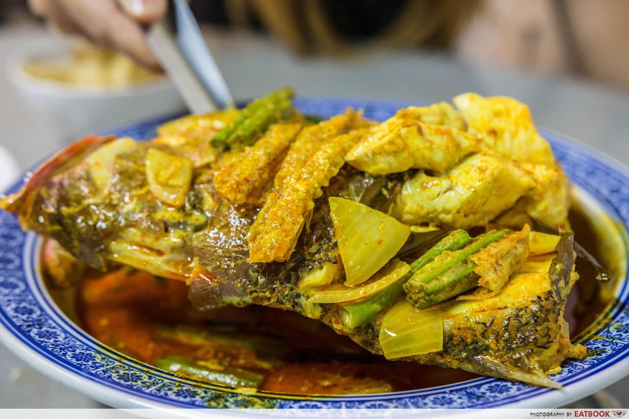 Miki Oriental Cuisine - curry fish head