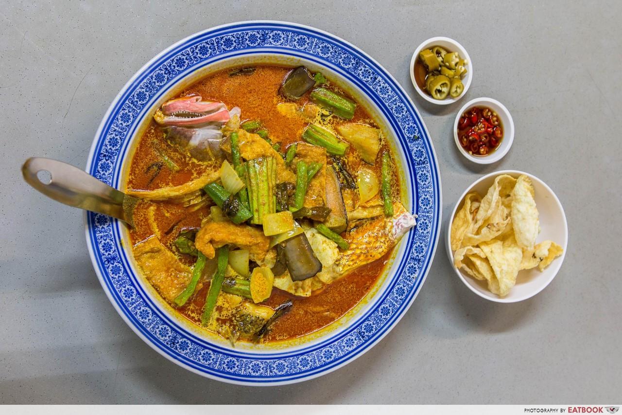 Miki Oriental Cuisine - fish curry
