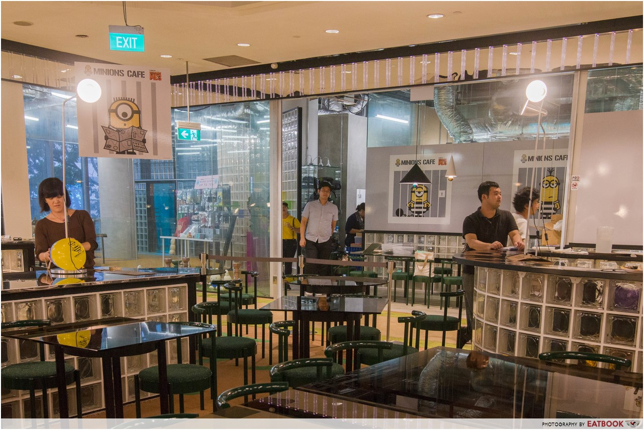 Minions cafe review: devour stuart mel and more minions at orchard