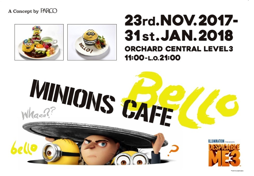 Minions Cafe - Poster