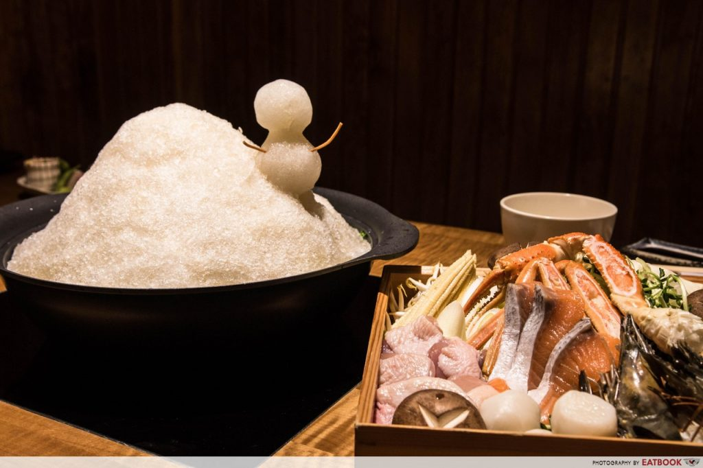 Nadai Fujisoba Ni-Hachi Review Ice hot pot review