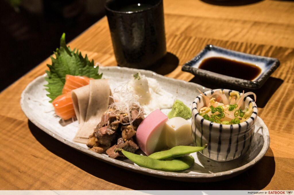 Nadai Fujisoba Ni-Hachi Review appetiser