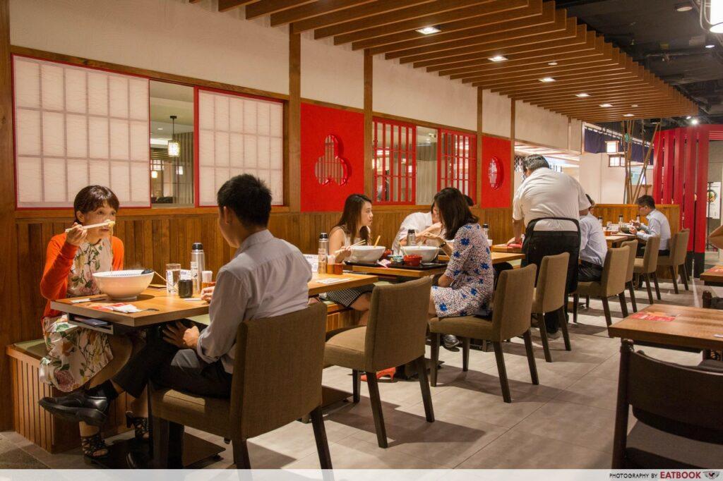 Nadai Fujisoba Ni-Hachi Review interior shot
