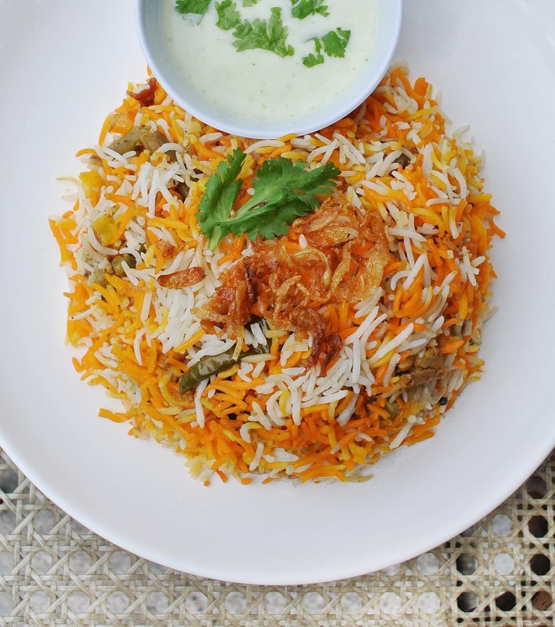 famous Nasi Biryani - Bismillah Biryani