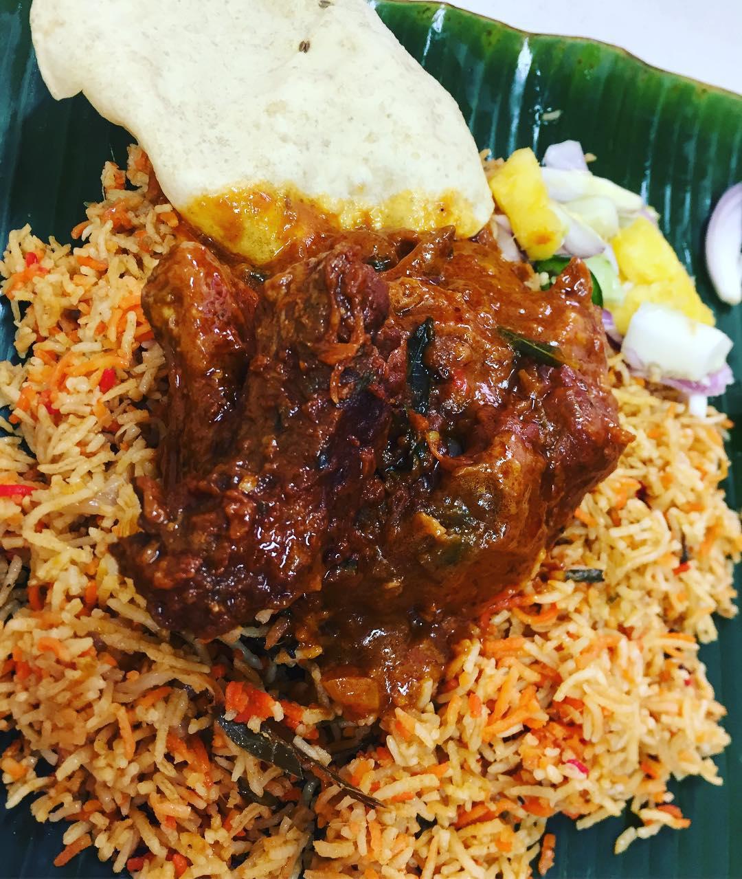 famous Nasi Biryani - Imam Banana Leaf Restaurant