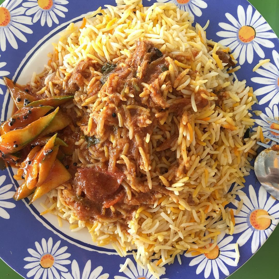 famous Nasi Biryani - Mami Midah Briyani