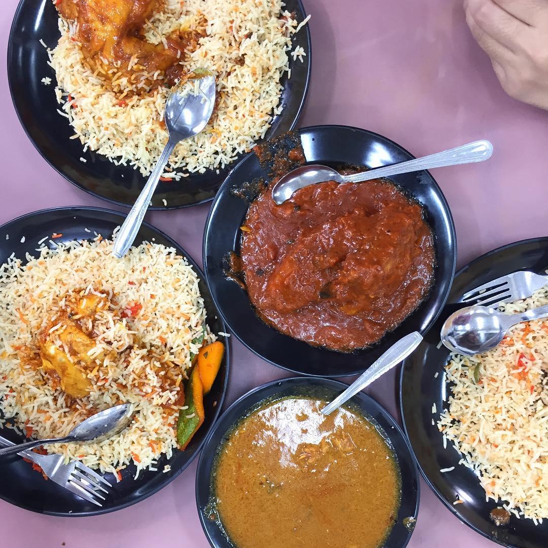 famous Nasi Biryani - Singapore Zam Zam Restaurant