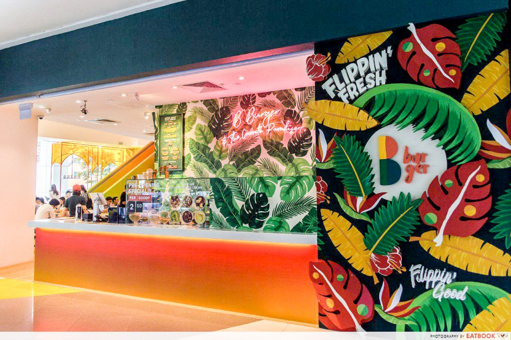 Prettiest Restaurant Storefront UOB YOLO B Burger
