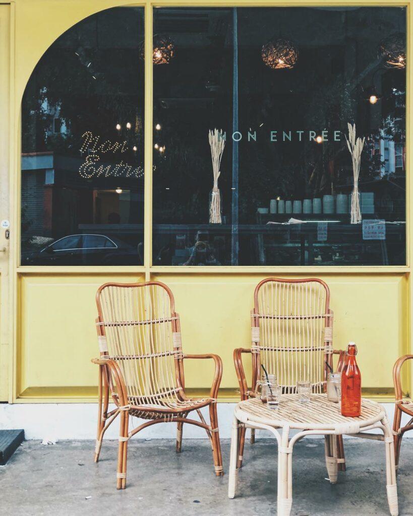 Prettiest Restaurant Storefront UOB YOLO Non Entree Desserts