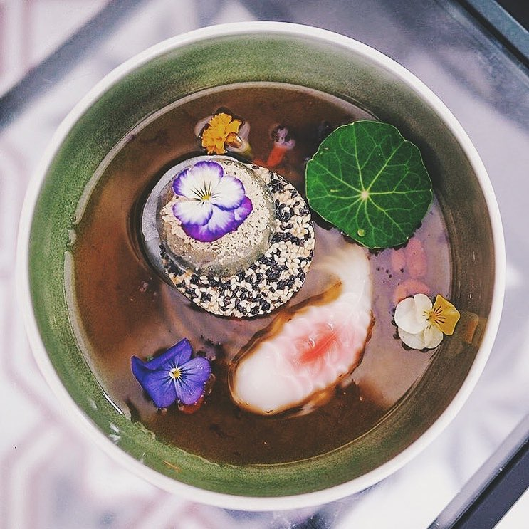 Prettiest Restaurant Storefront UOB YOLO Non Entree Desserts IKE