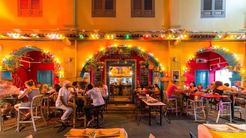 Prettiest Restaurant Storefront UOB YOLO Piedra Negra