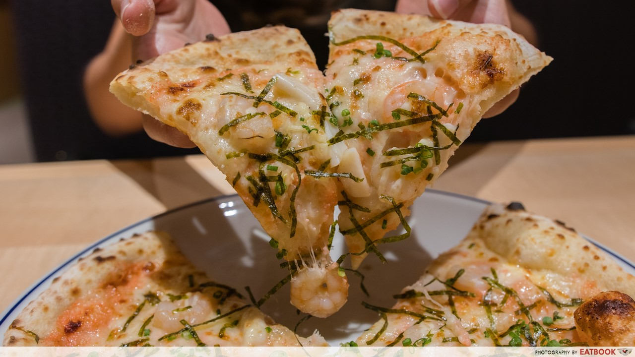 SORA- mentaiko pizza