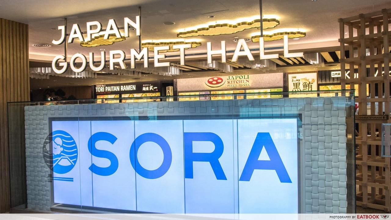 SORA- store front