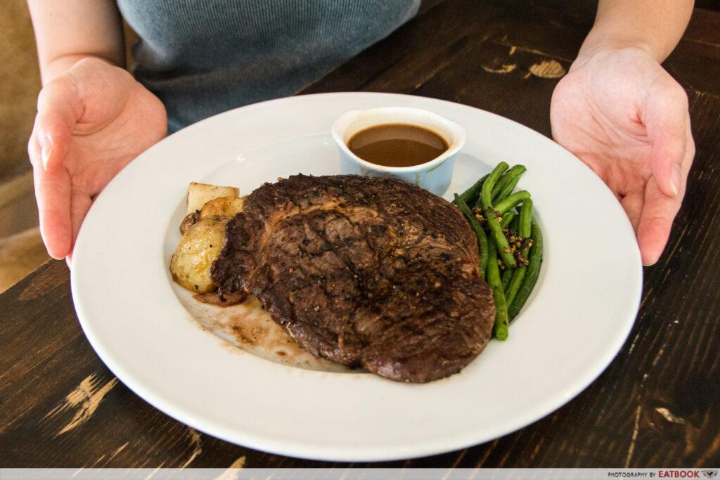 T Bob's Corner - Ribeye Steak