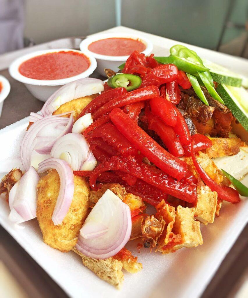 Tampines Central Food Al Mahboob Rojak