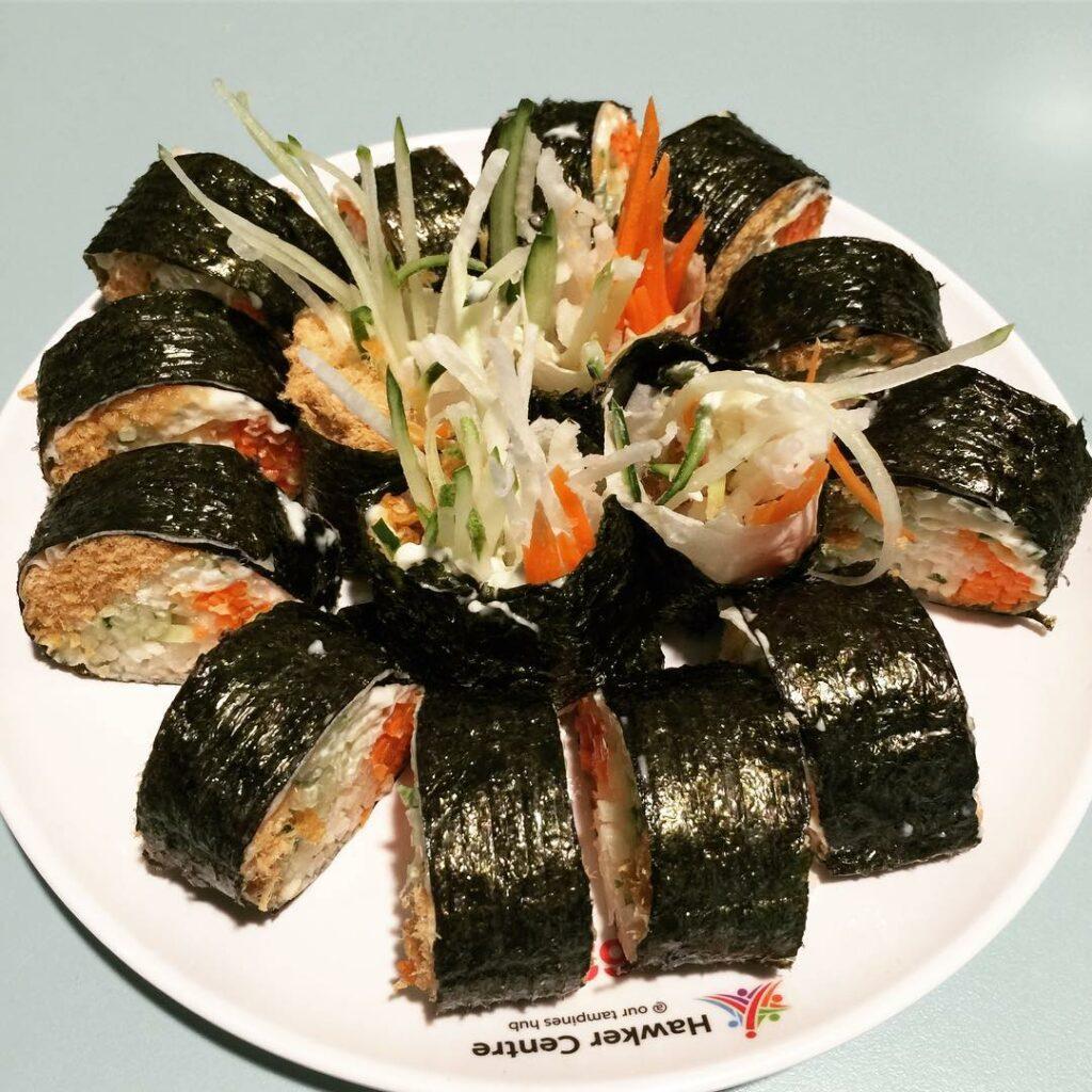 Tampines Central Food Ofanz Rojak Popiah