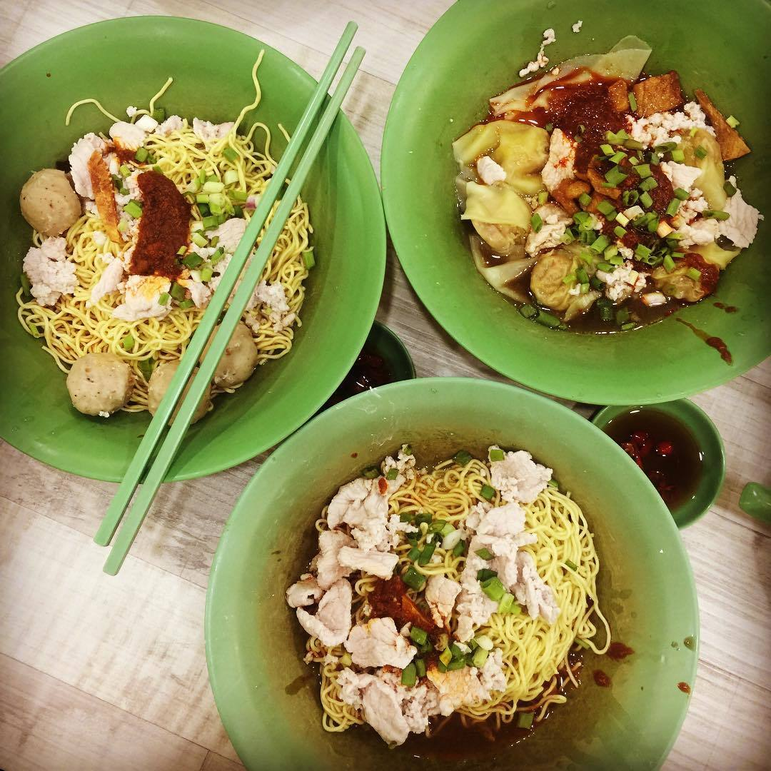 Tmpines East food - Fu Yuan Teo Chew Bak Chor Mee