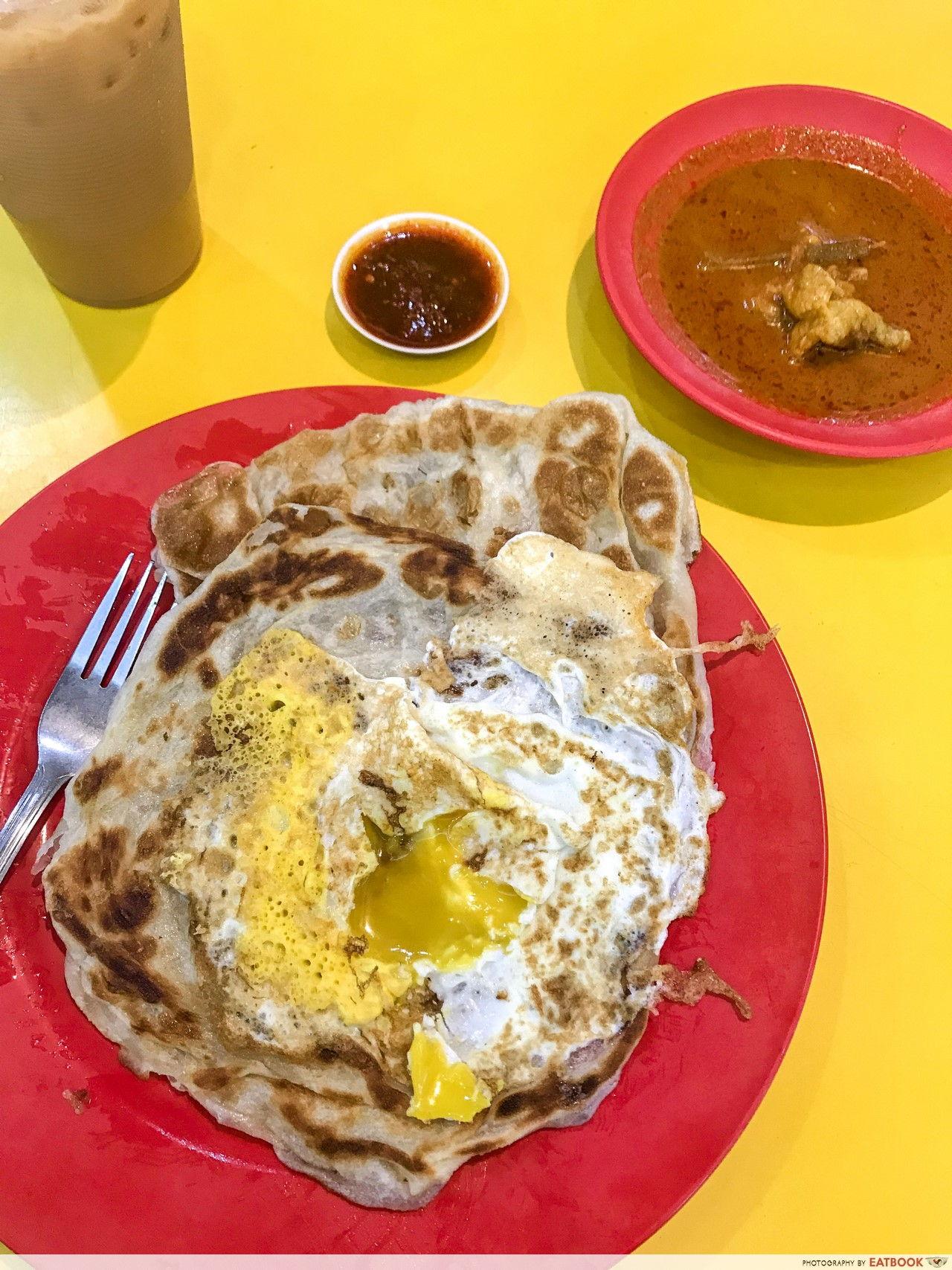 Tmpines East food - Saffron's Cafeteria Indian Food