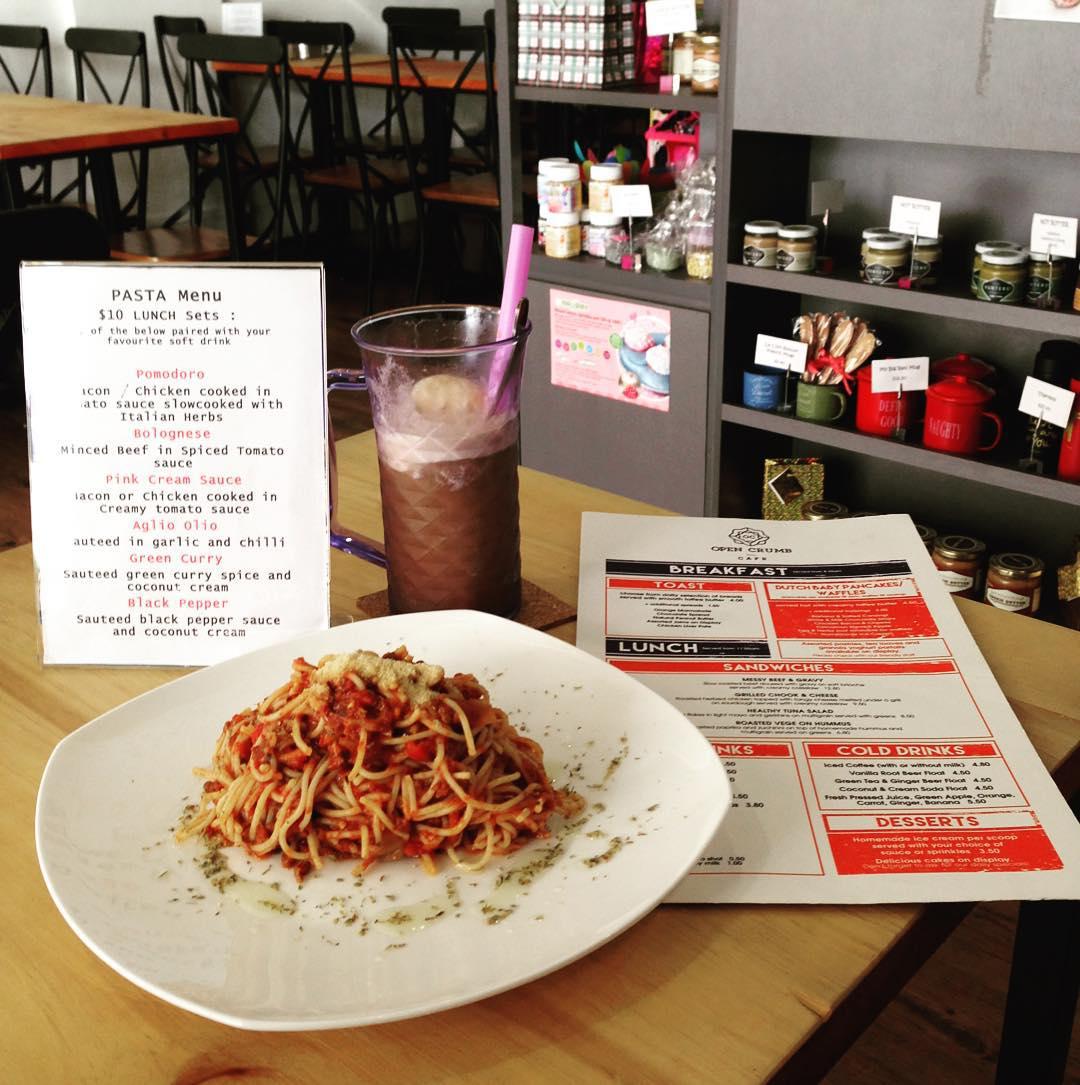 Ubi food - open crumb cafe