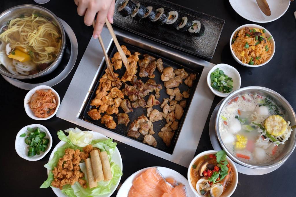 cheap student buffets - seoul garden