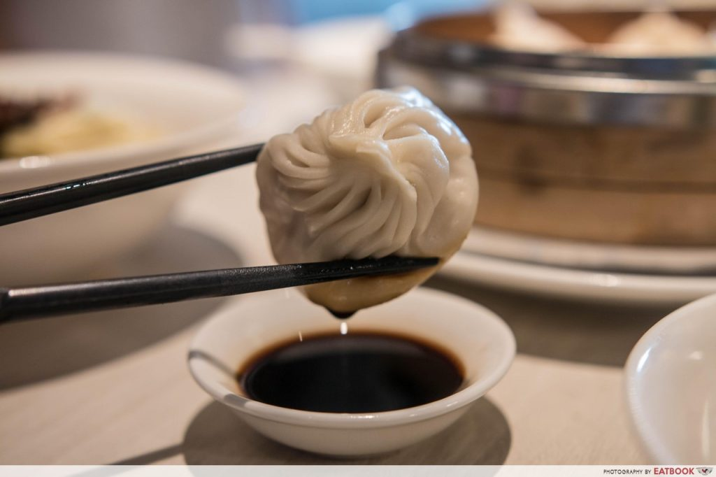 ding tele - xiao long bao close up