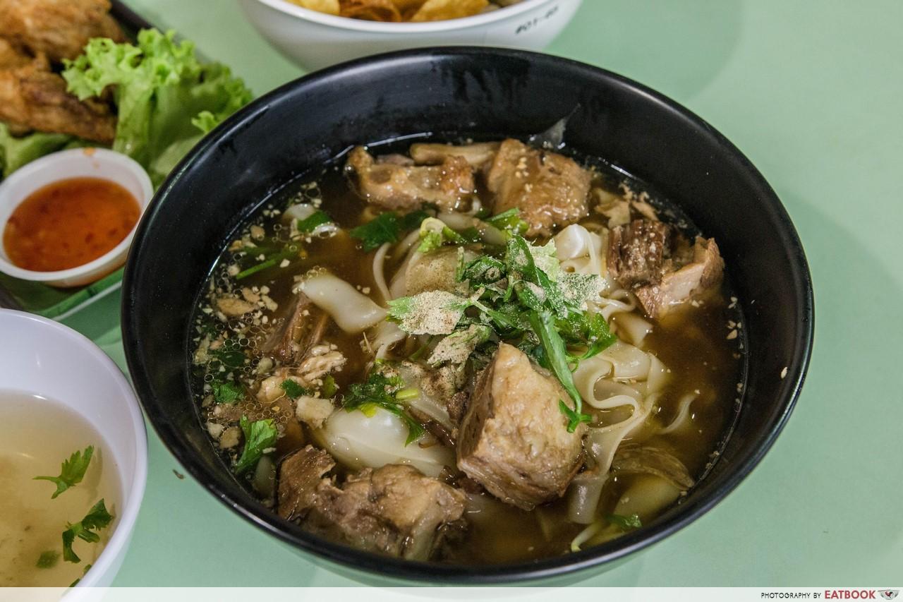 Gin Sen - thai beef soup noodle