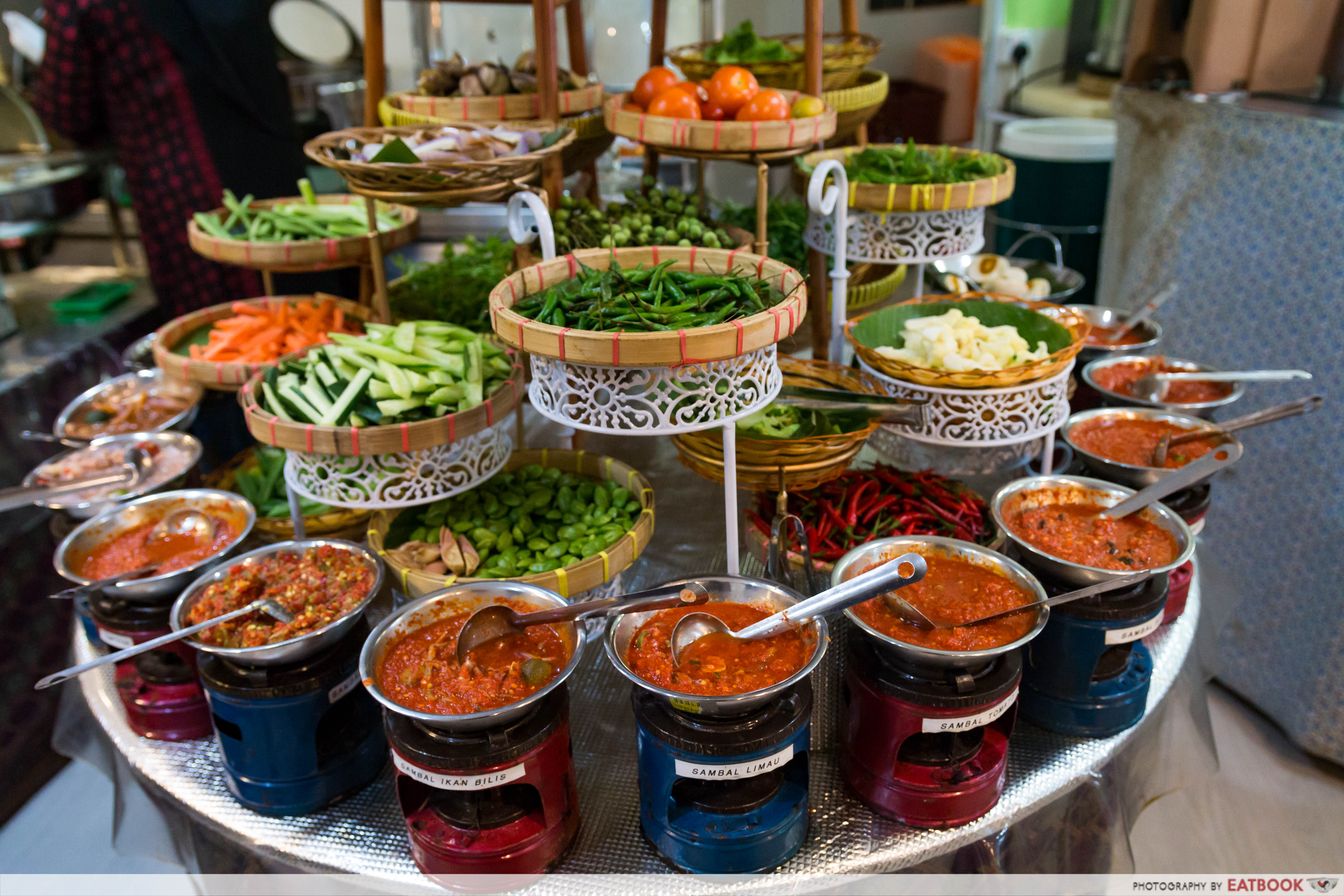 halal buffets- aroma kampung