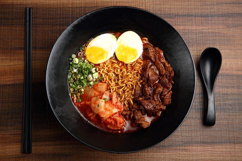 halal korean food NOOSH Noodle Bar and Grill
