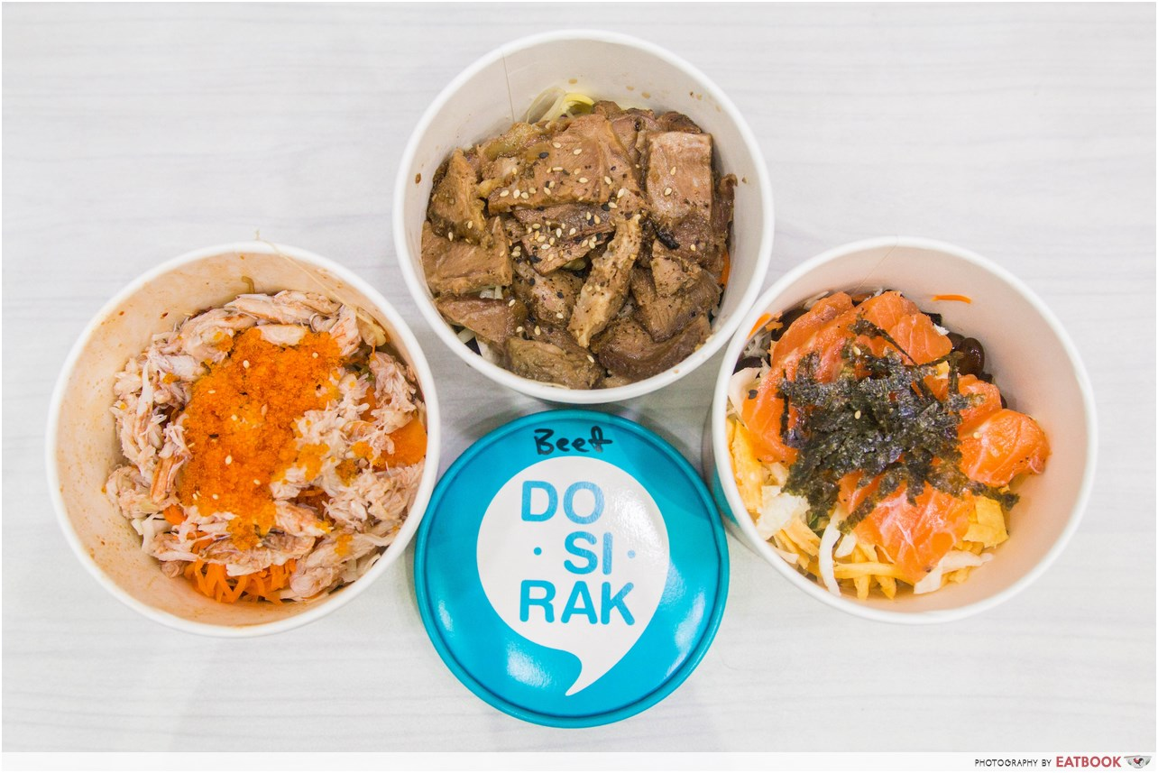 halal korean food - dosirak