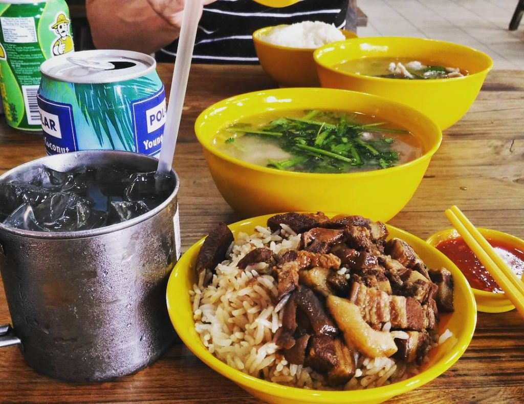 lu rou fan Authentic Mun Chee Kee King of Pig's Organ Soup