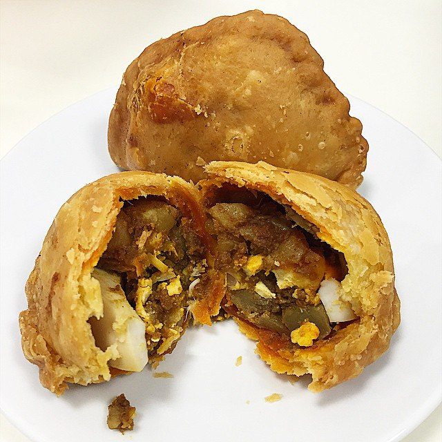 old school hawker stalls rolina curry puffs