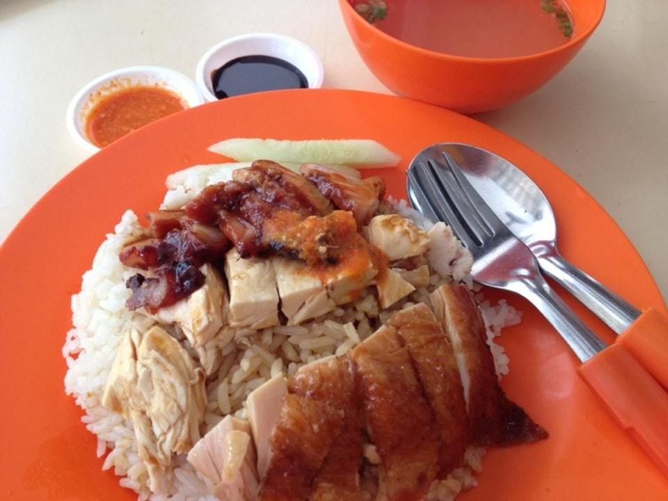 yishun hawker gems - Eng Kee Roasted Hainanese Boneless Chicken Rice & Porridge