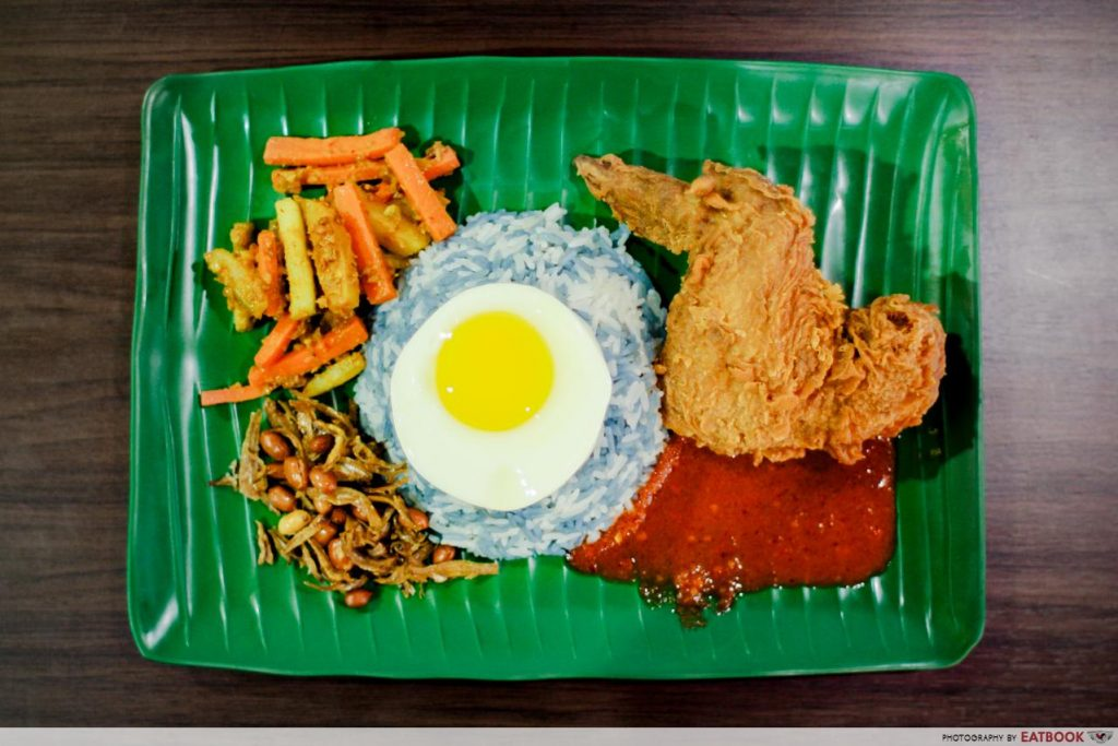 Atas Hawker Food Under $8 - Jia Xiang Nasi Lemak