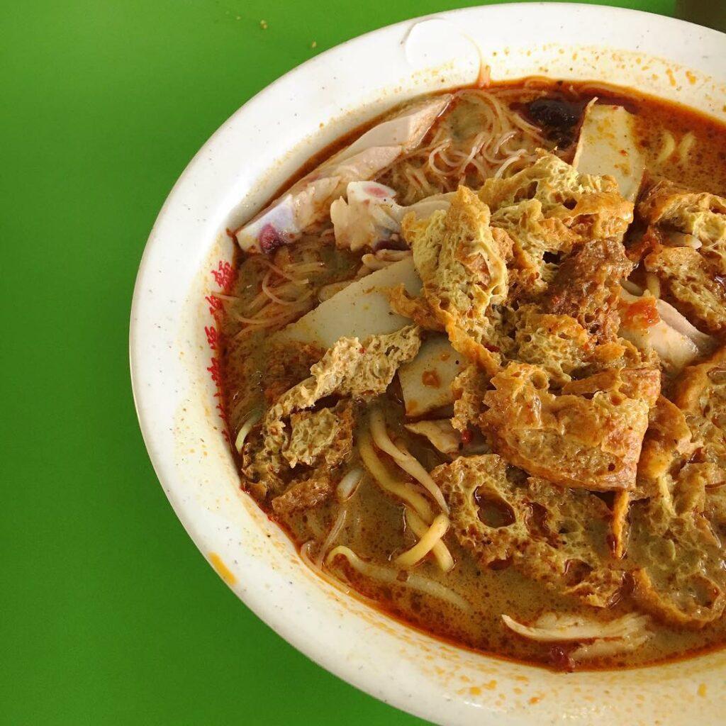 Bedok Interchange Hawker Centre hock hai curry noodles