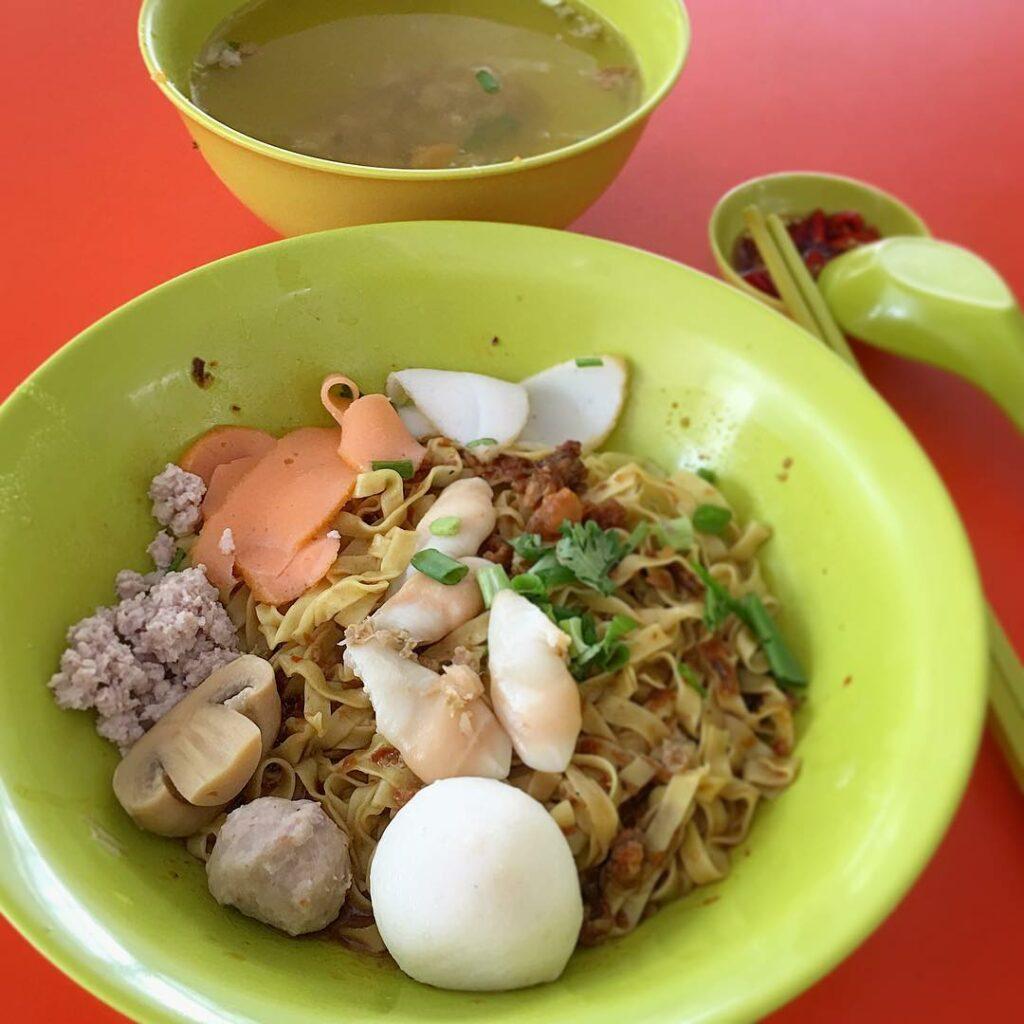 Bedok Interchange Hawker Centre teo noodle