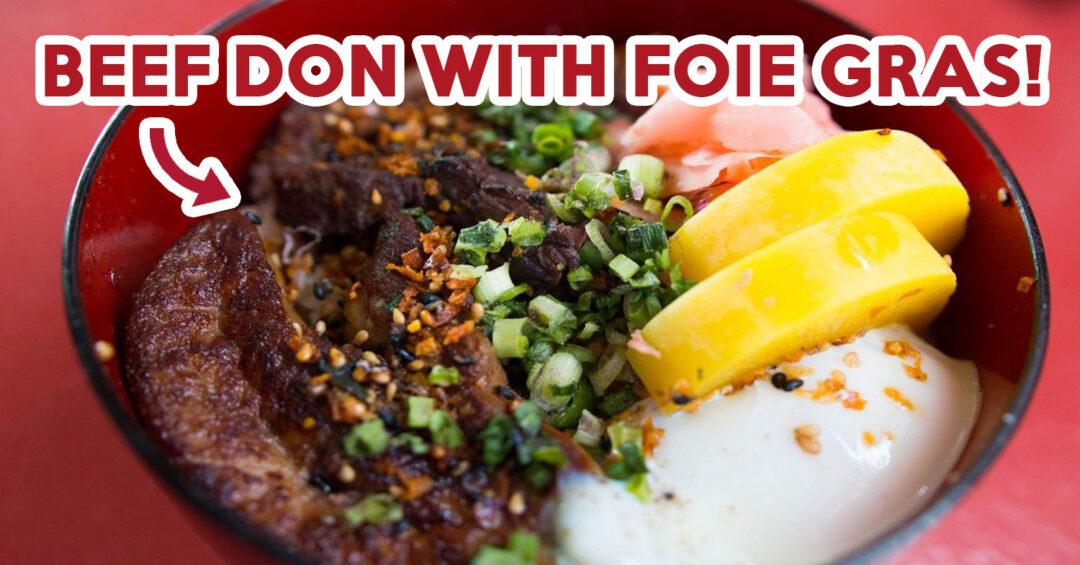 Beef donburi- feature image