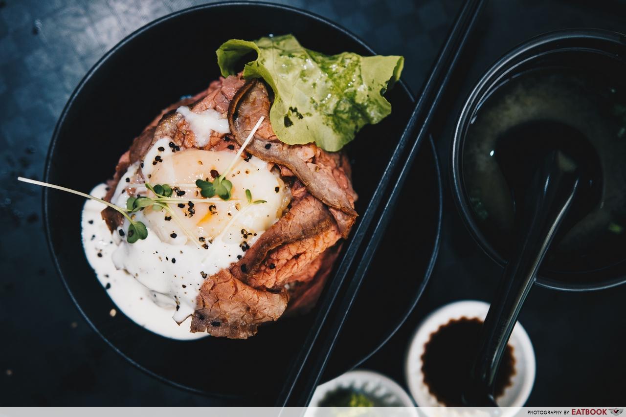 hawker beef donburi - gyu nami