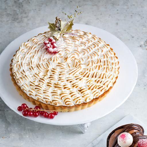 Christmas Potluck - Baked Lemon Meringue Tart
