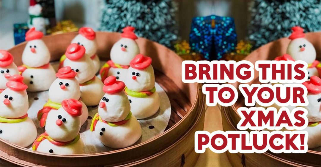 Christmas Potluck - Feature Image