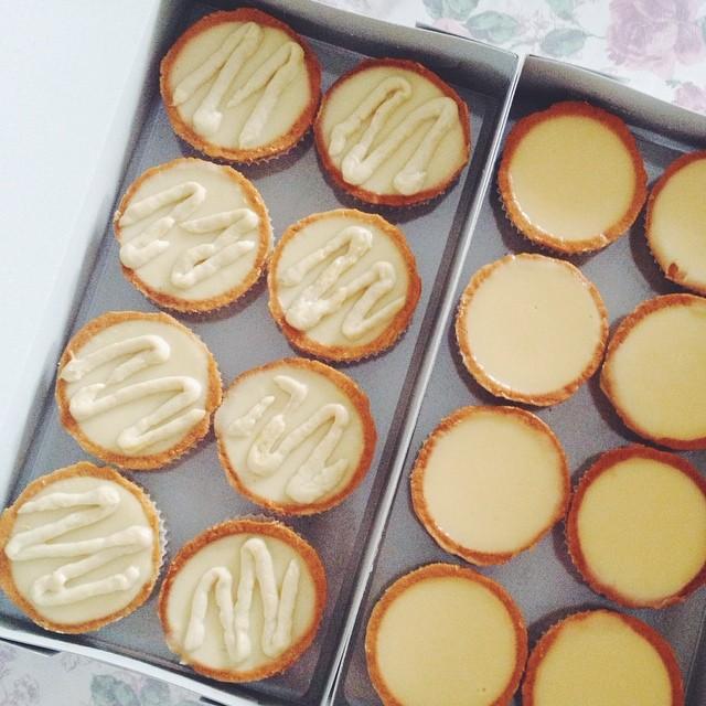 Durian Snacks - Durian Bean Curd Tarts