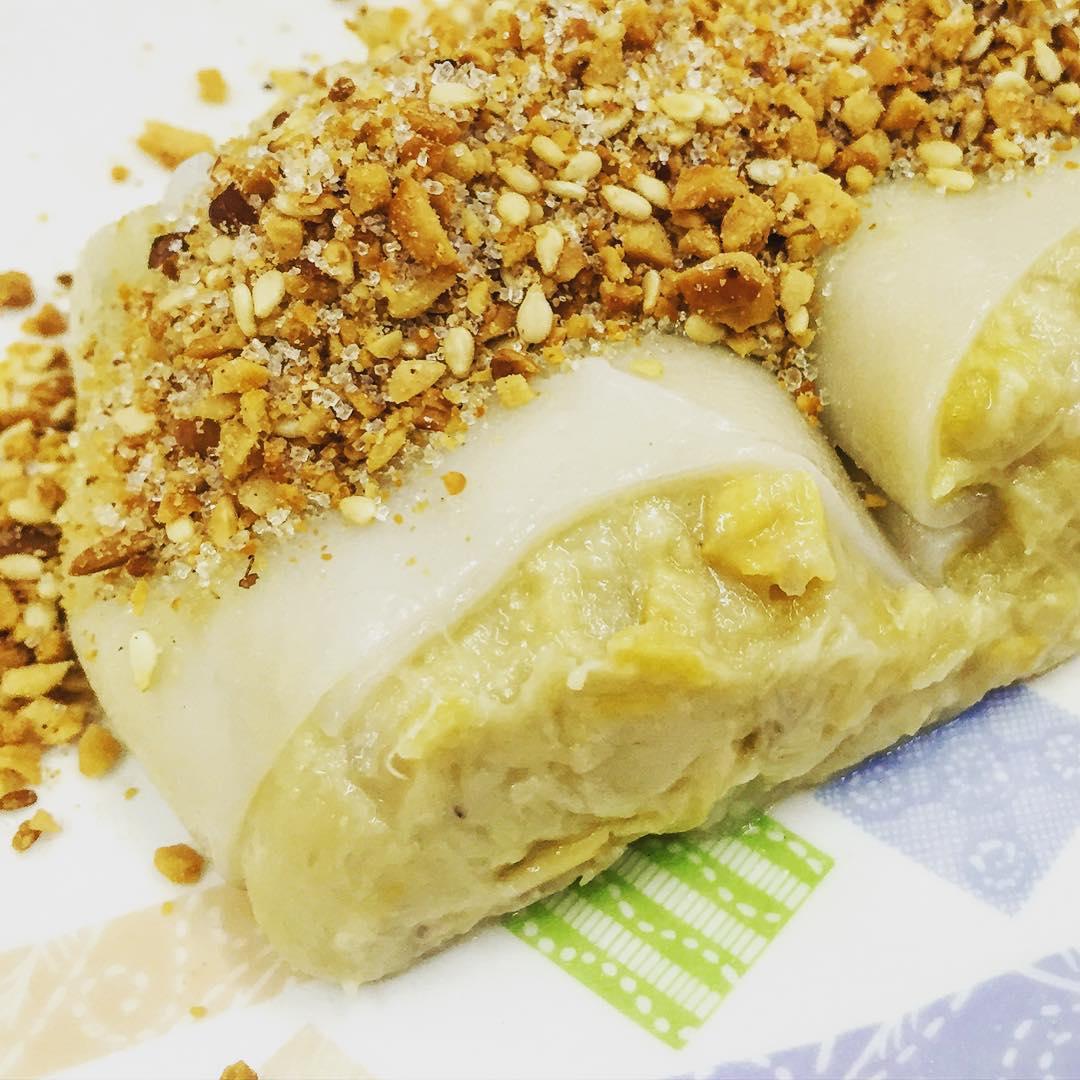 Durian Snacks - Durian Chee Cheong Fun