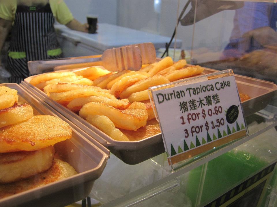 Durian Snacks - Durian Tapioca Cake