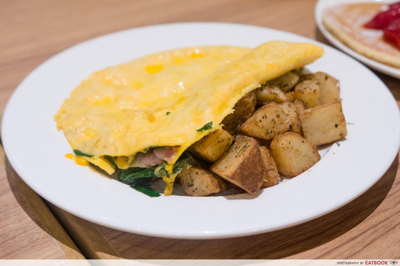 eggs n things - omelette