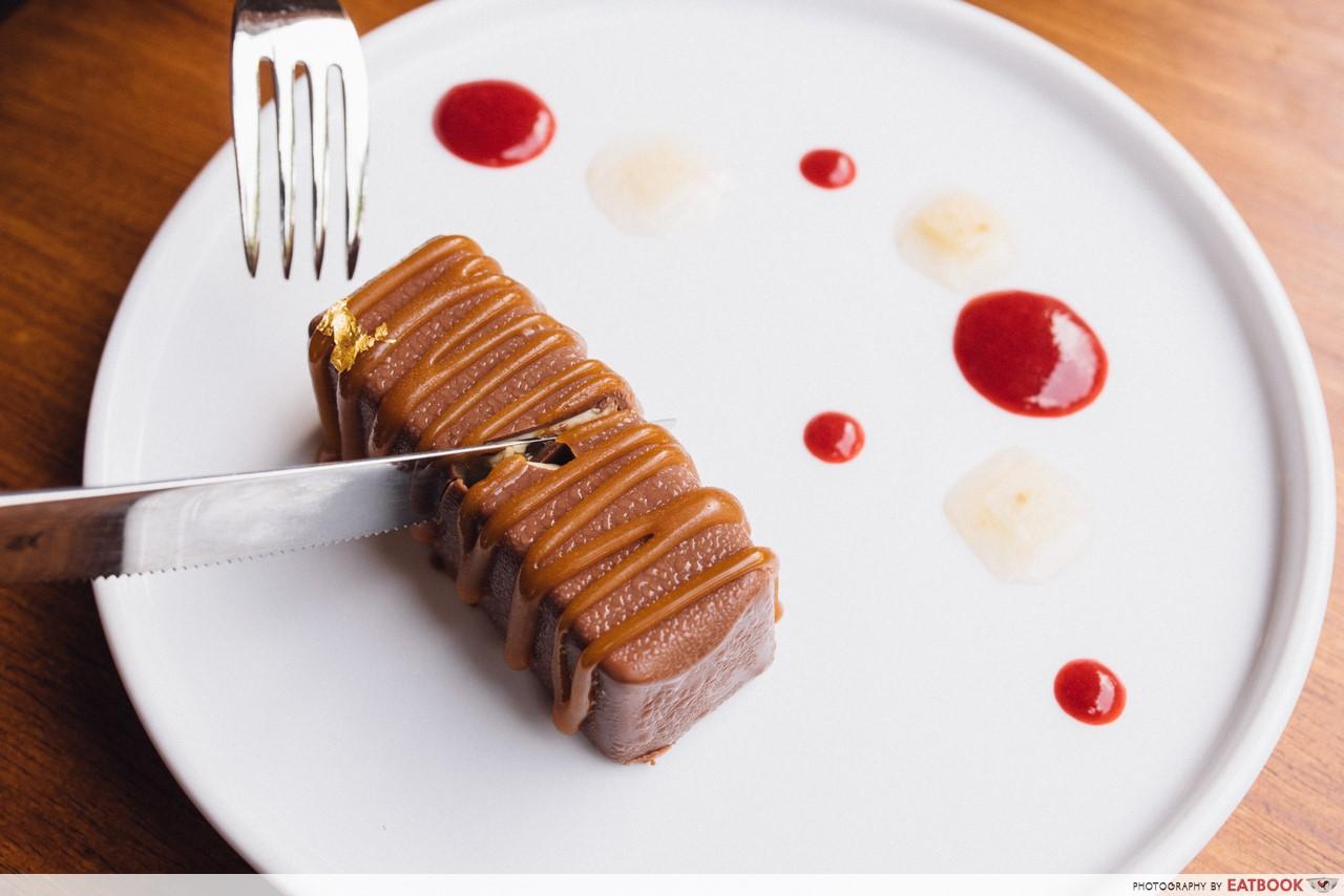 Fat belly- foie gras ice cream