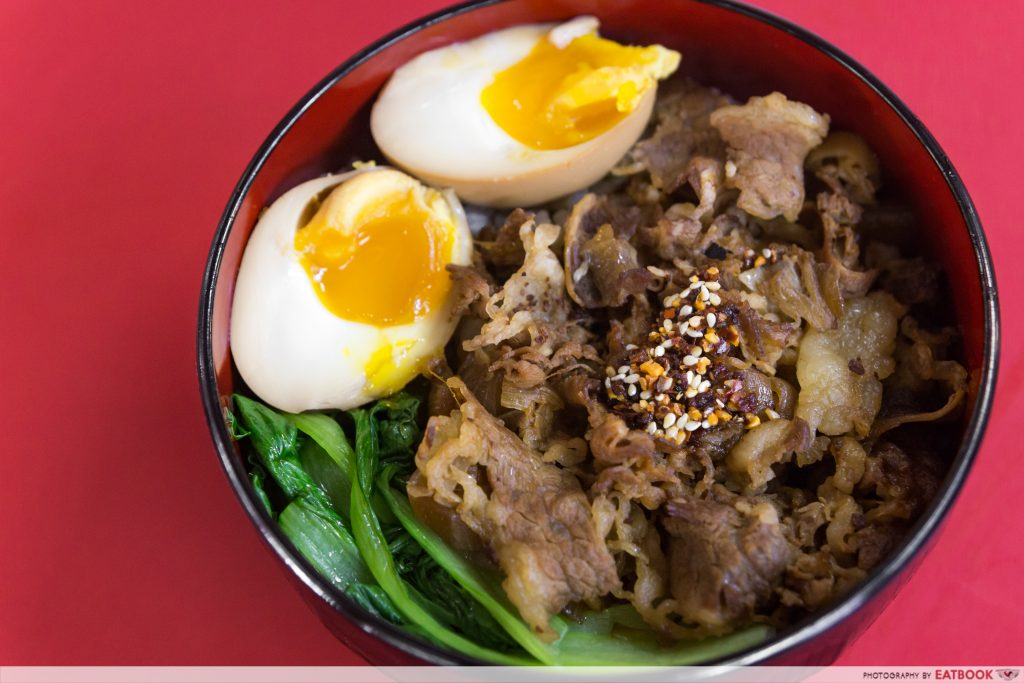Give Me More - Beef Rice Bowl