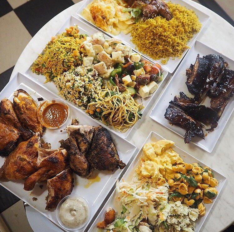 Hawker Meat Platters - Charco's The Flaming Chicken