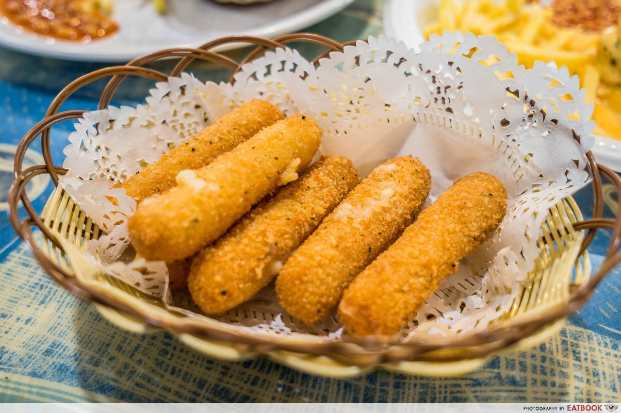 Nadim's delights - cheese sticks